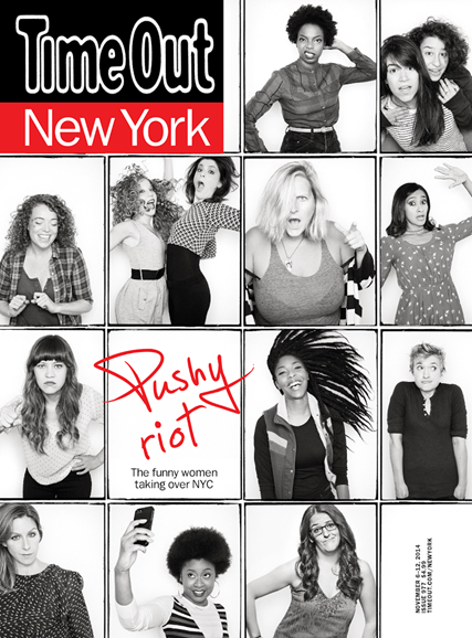 Time Out New York Cover - 11/6/2014