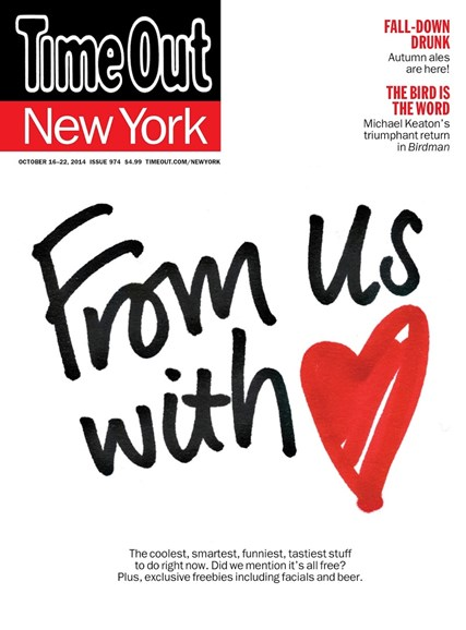 Time Out New York Cover - 10/16/2014