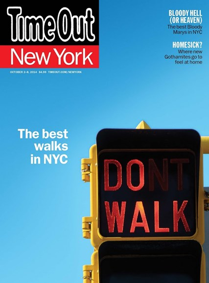 Time Out New York Cover - 10/2/2014