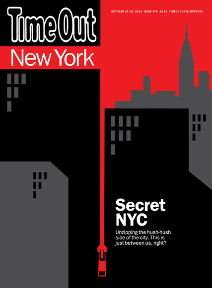 Time Out New York Cover - 10/23/2014