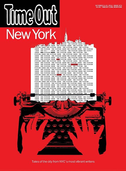 Time Out New York Cover - 10/9/2014