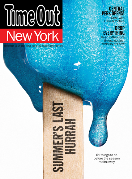 Time Out New York Cover - 9/11/2014