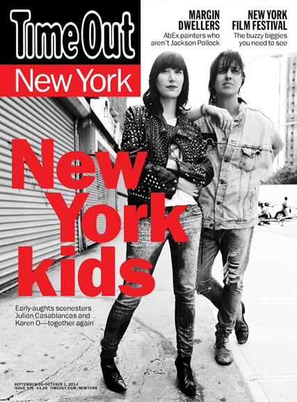 Time Out New York Cover - 9/25/2014