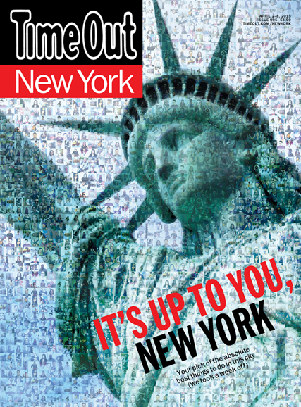 Time Out New York Cover - 4/2/2015