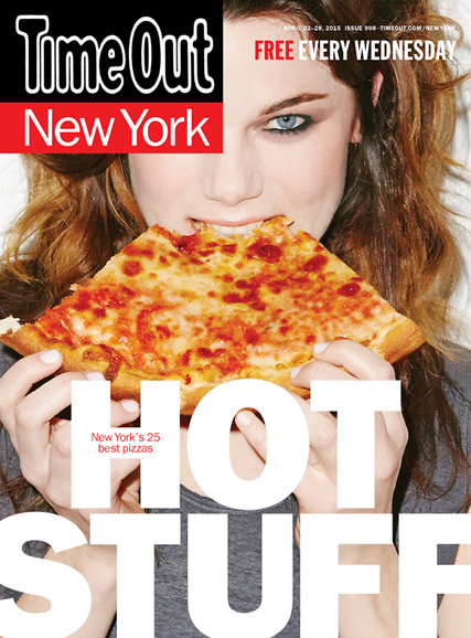 Time Out New York Cover - 4/23/2015