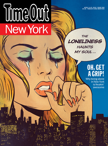 Time Out New York Cover - 4/9/2015