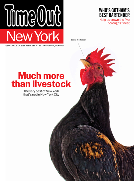 Time Out New York Cover - 2/12/2015