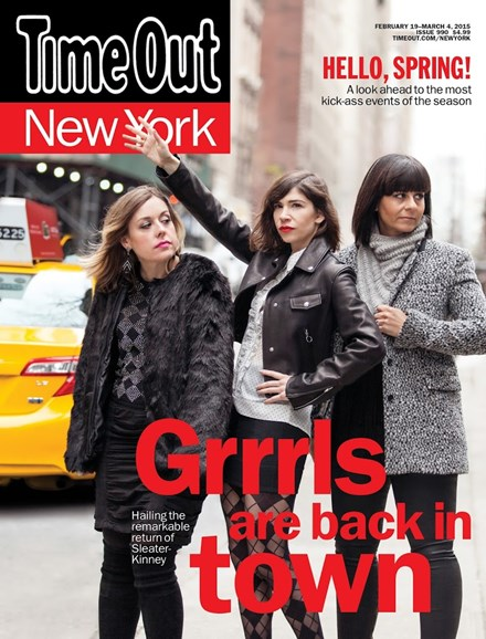 Time Out New York Cover - 2/19/2015