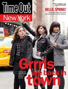 Time Out New York Magazine 2/19/2015