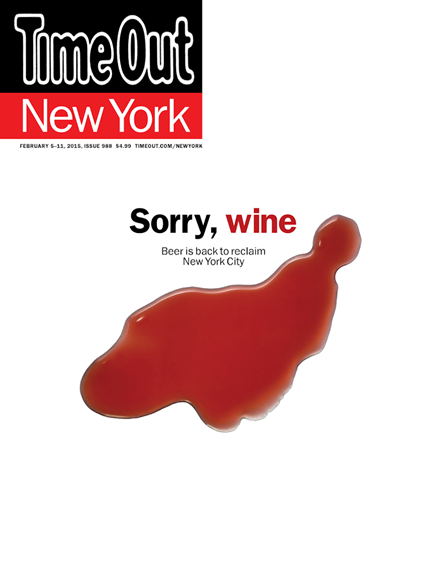 Time Out New York Cover - 2/5/2015