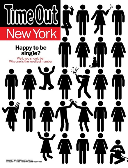 Time Out New York Cover - 1/29/2015