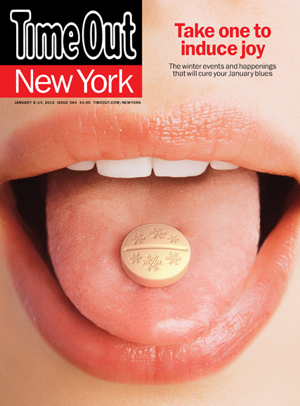 Time Out New York Cover - 1/8/2015