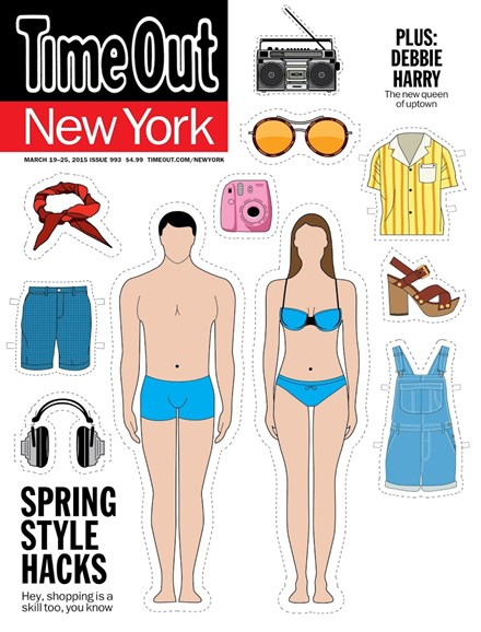 Time Out New York Cover - 3/19/2015