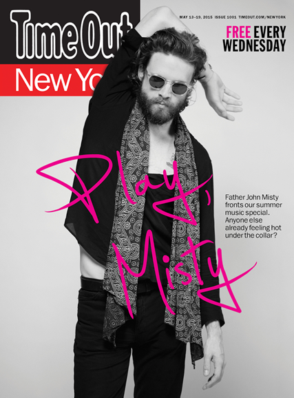 Time Out New York Cover - 5/13/2015