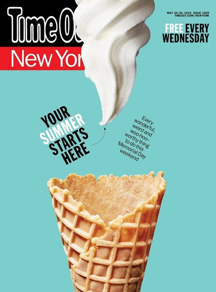 Time Out New York Cover - 5/20/2015