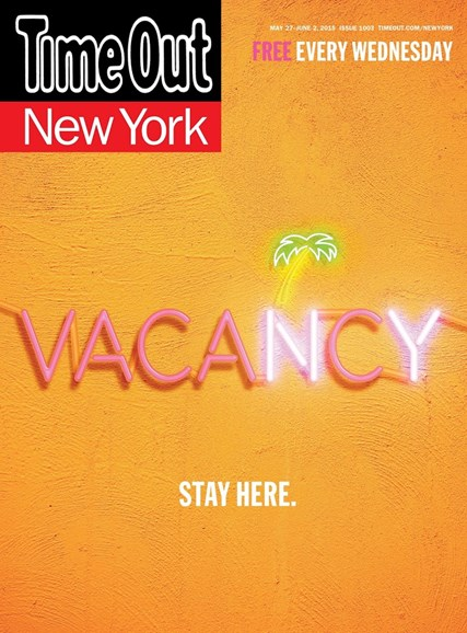 Time Out New York Cover - 5/27/2015