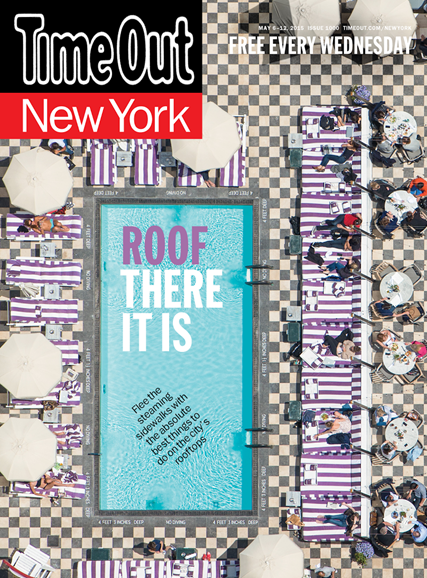 Time Out New York Cover - 5/6/2015
