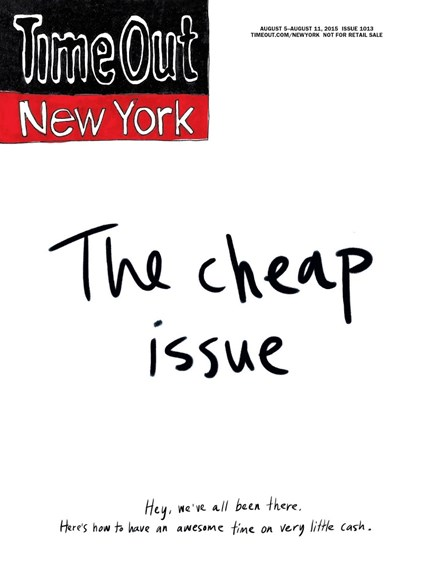 Time Out New York Cover - 8/5/2015