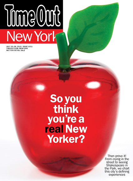 Time Out New York Cover - 7/22/2015