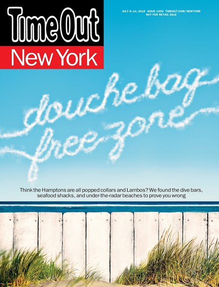 Time Out New York Cover - 7/8/2015