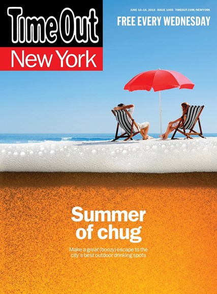 Time Out New York Cover - 6/10/2015