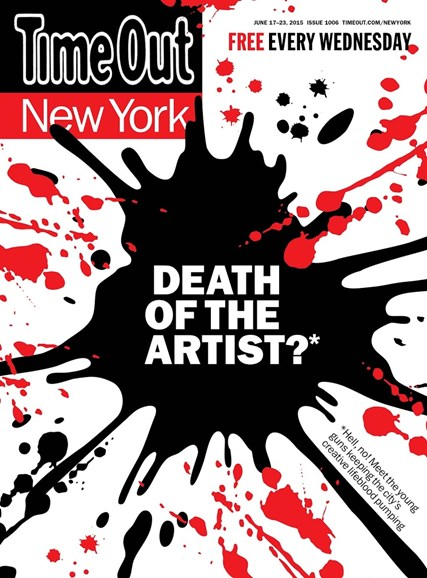 Time Out New York Cover - 6/17/2015