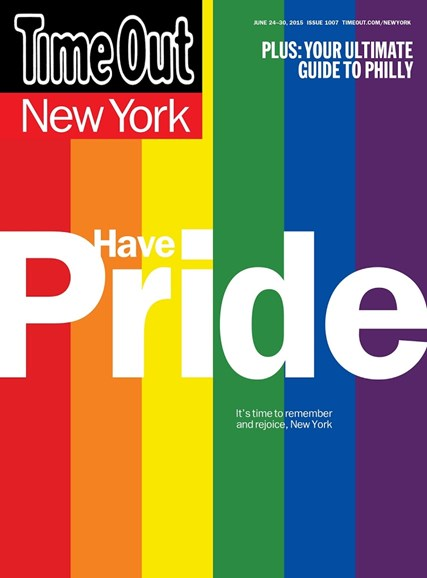 Time Out New York Cover - 6/24/2015