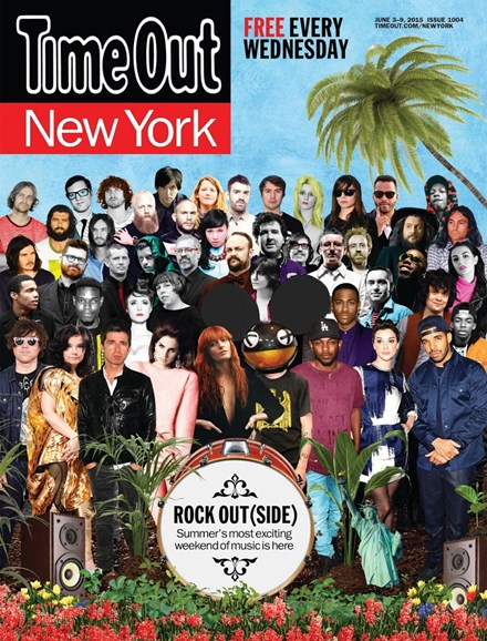Time Out New York Cover - 6/3/2015