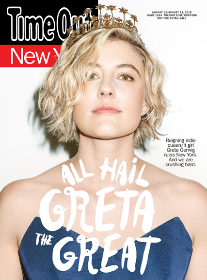 Time Out New York Cover - 8/12/2015