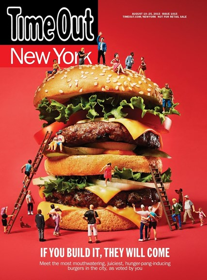 Time Out New York Cover - 8/19/2015