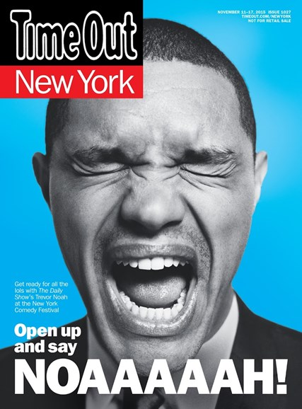 Time Out New York Cover - 11/11/2015