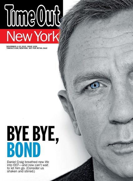 Time Out New York Cover - 11/4/2015