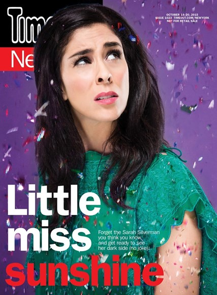 Time Out New York Cover - 10/14/2015