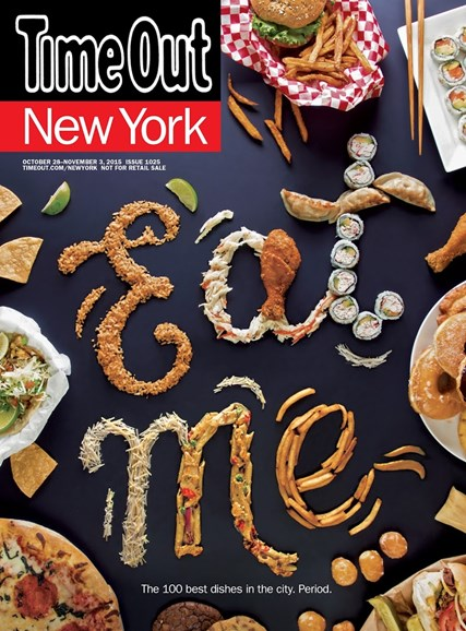 Time Out New York Cover - 10/28/2015