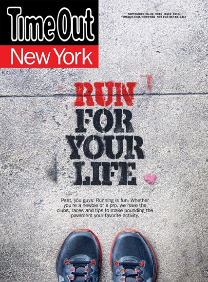 Time Out New York Cover - 9/16/2015