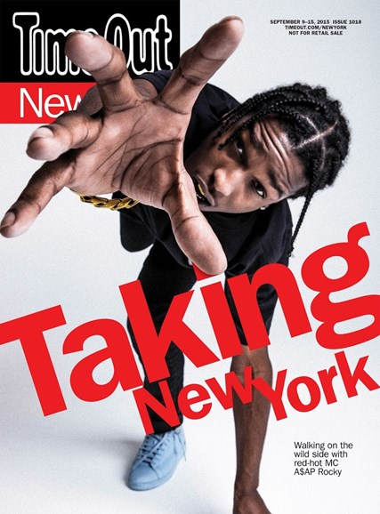 Time Out New York Cover - 9/9/2015