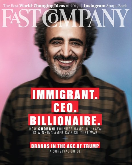 Fast Company Cover - 4/1/2017