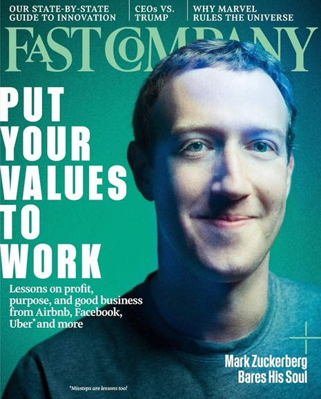 Fast Company Cover - 5/1/2017