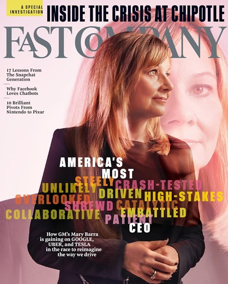 Fast Company Cover - 11/1/2016