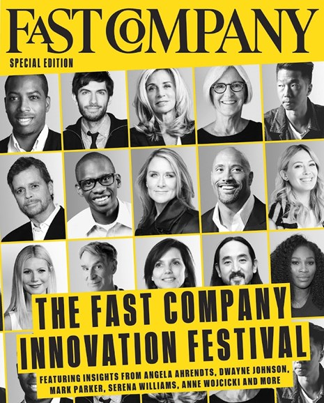 Fast Company Cover - 9/15/2016