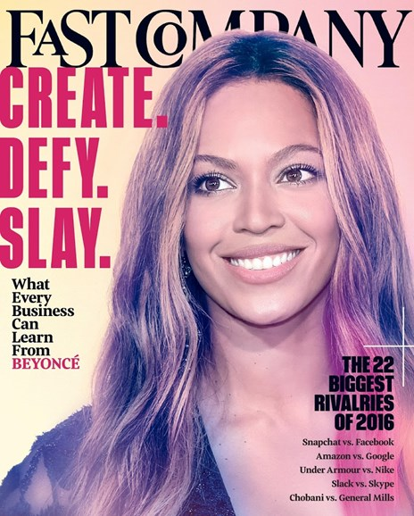 Fast Company Cover - 7/1/2016
