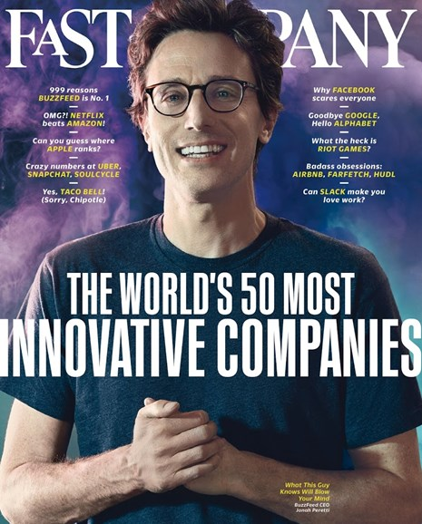 Fast Company Cover - 3/1/2016