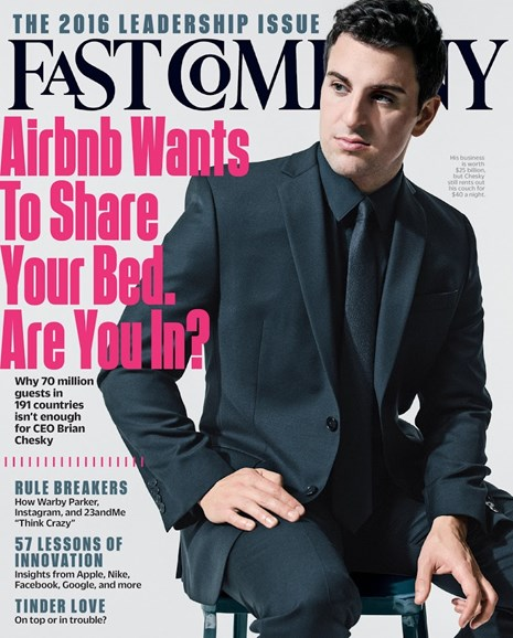 Fast Company Cover - 2/1/2016