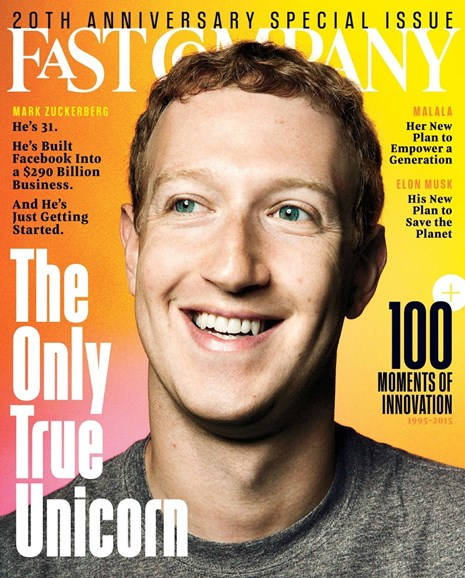 Fast Company Cover - 12/1/2015