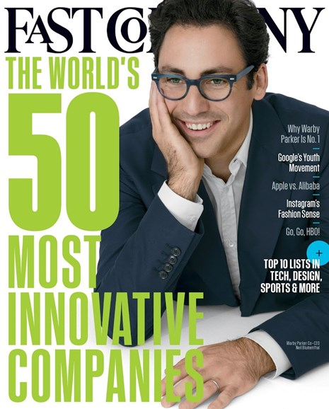 Fast Company Cover - 3/1/2015