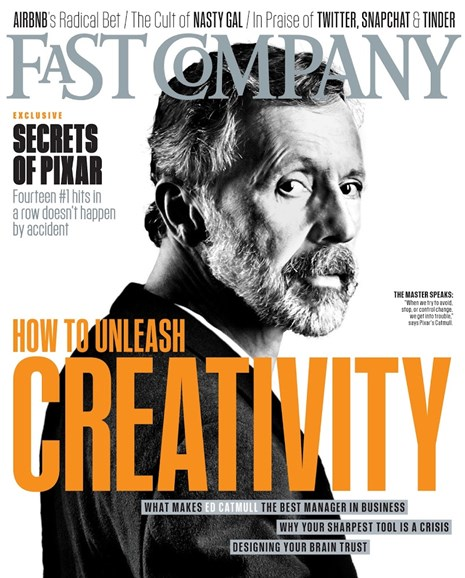 Fast Company Cover - 4/1/2014