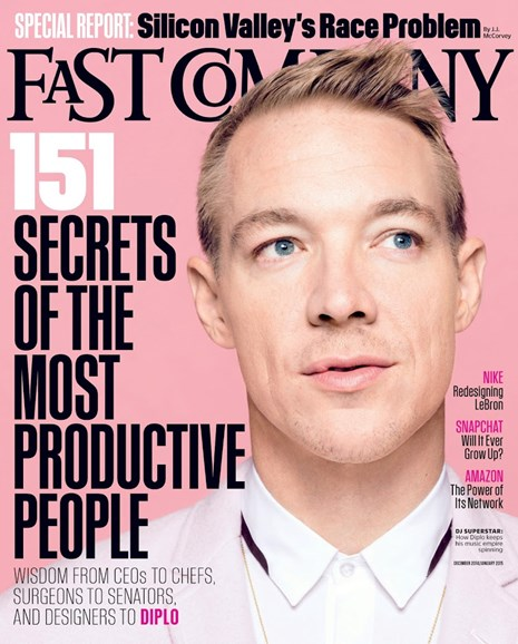 Fast Company Cover - 12/1/2014