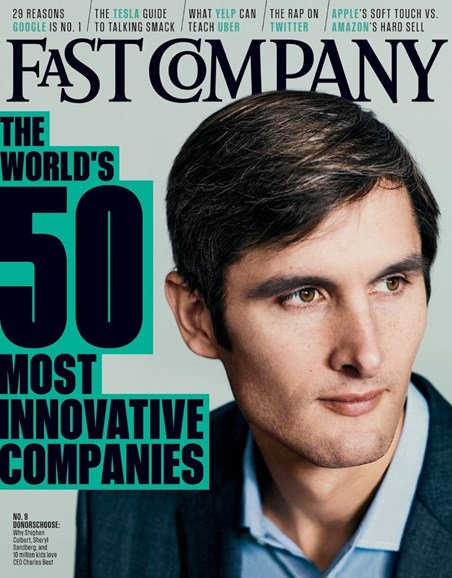 Fast Company Cover - 3/1/2014