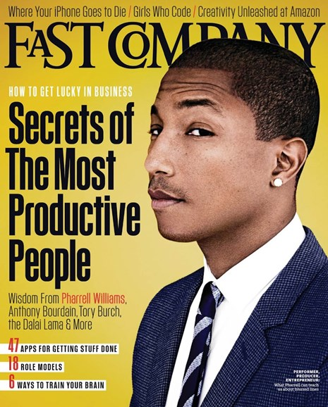 Fast Company Cover - 12/1/2013