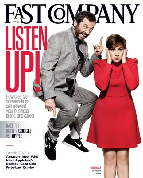 Fast Company Cover - 2/1/2013